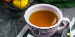 Fasting with tea