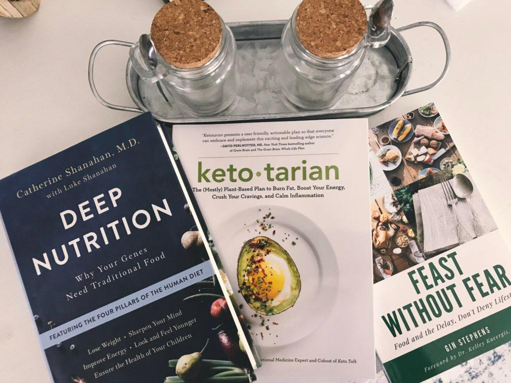 Learning more about plant-based nutrition and intermittent fasting.