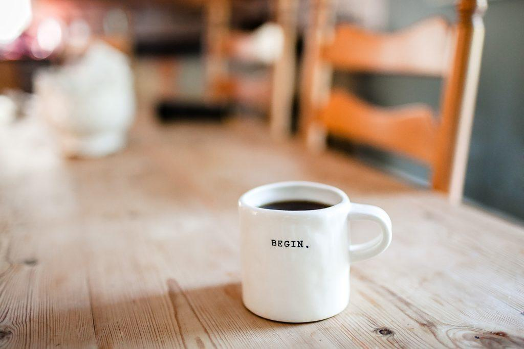 Begin your autophagy journey with coffee and fasting. Photo by Danielle MacInnes on Unsplash.