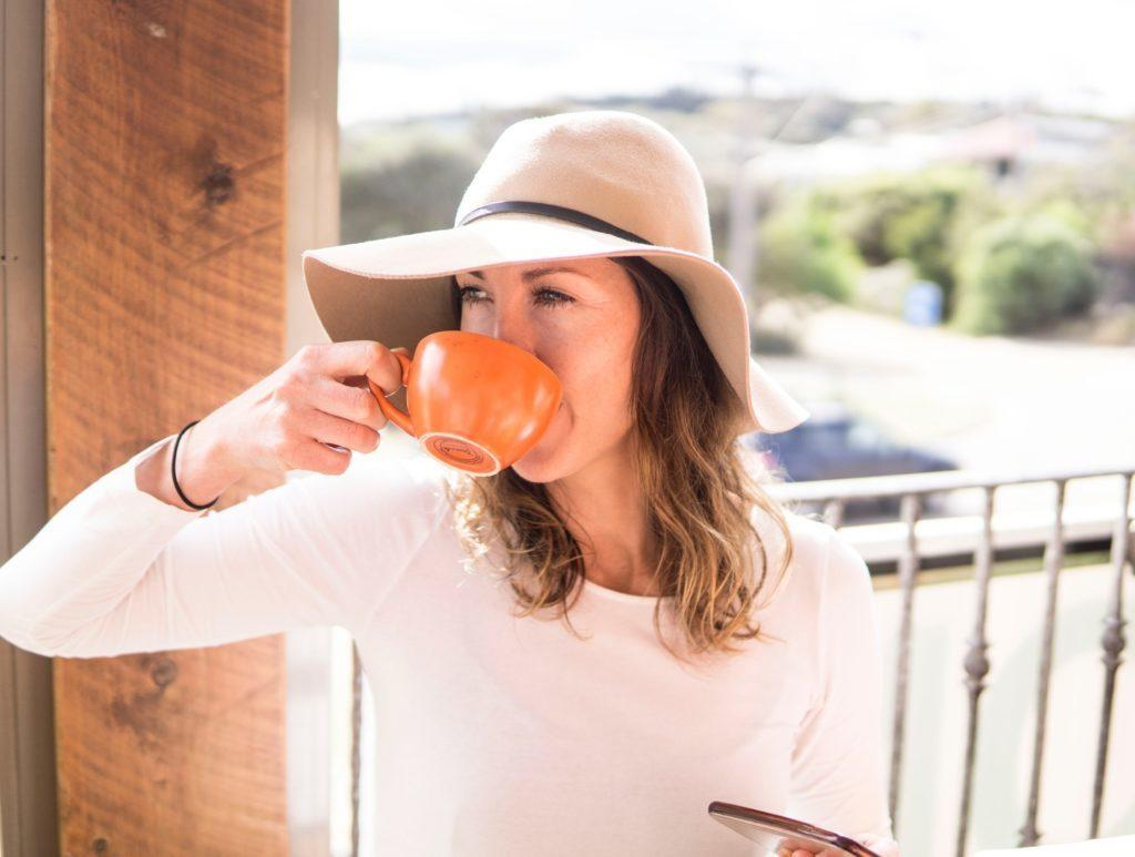 Will coffee break your fast? Probably not! You can even enjoy a tad of cream or butter in your coffee while fasting, but avoid sugar. Image Credit: Elle Hughes.