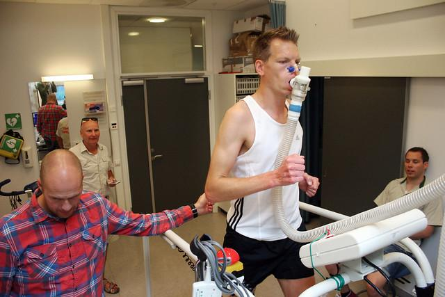 Vo2 Max test. Image credit: NTNU, Flickr.com.