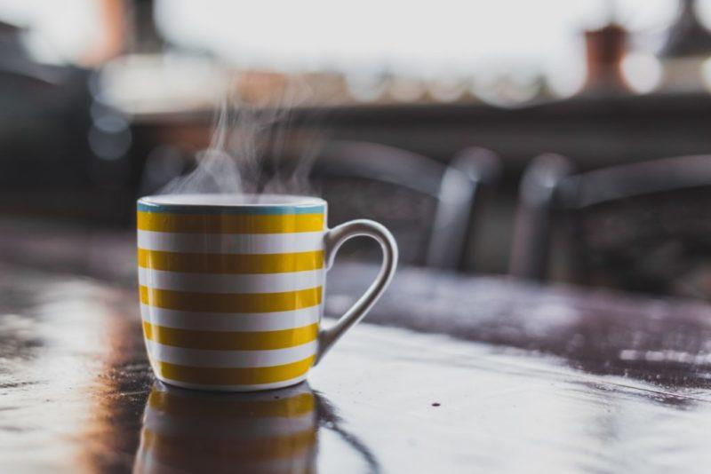 green tea or coffee on their fast days. Photo by Alexandru G. STAVRICĂ on Unsplash.