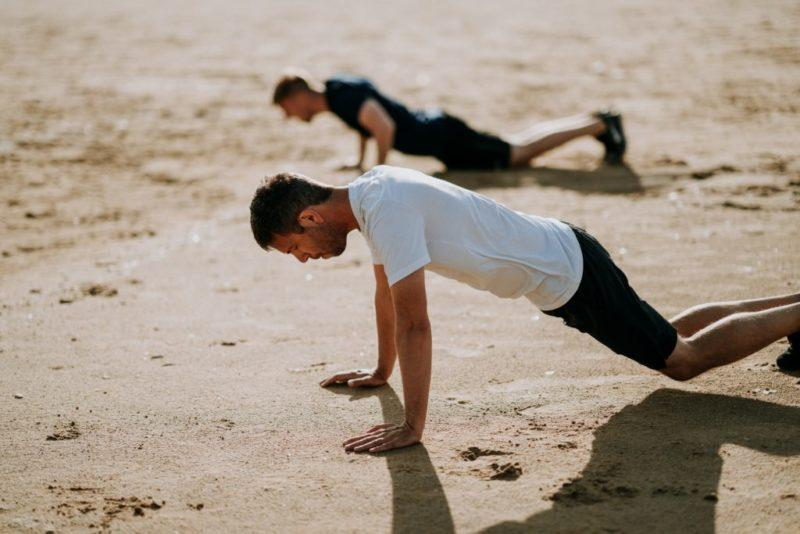 The easiest way to maintain your ability to do a pushup? Training pushups. Photo by Annie Spratt on Unsplash.