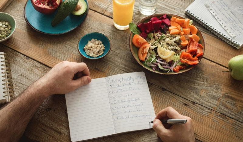 Create your own healthy eating guidelines and goals, according to what works for you.
