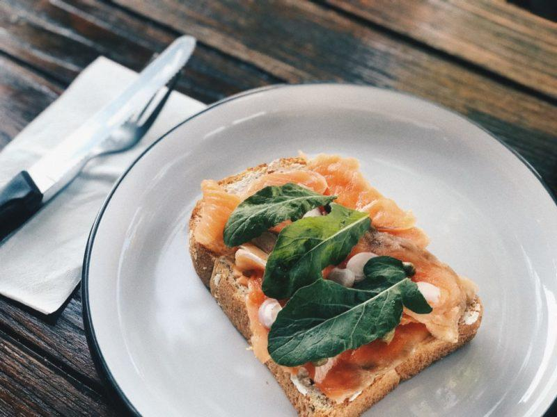 Salmon is a great source of vitamin D. Photo by PTMP on Unsplash.